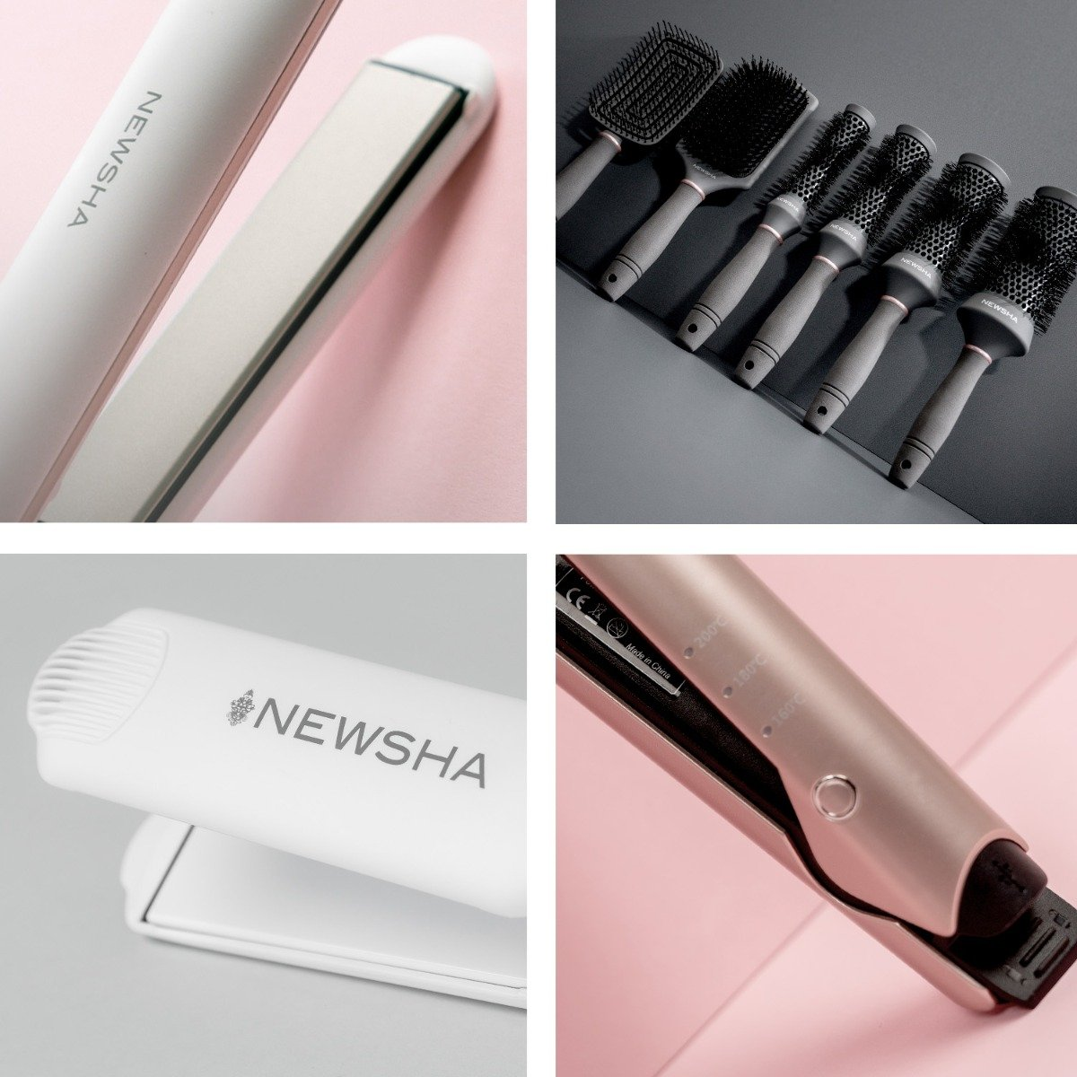 Fall in love with our NEWSHA Styling-Tools